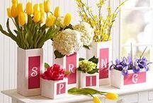 Spring Inspiration / Home decor and design ideas for Spring!