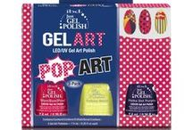 POP Art & Animal Prints- Gel Art Kits / 3 piece Pop Art Gel Art Kit & 3 piece Animal Print Gel Art Kit  #ibd #ibdnails #ibdgelpolish #gelpolish #gelnails #prettynails #justgelpolish #nailkit #animalprints #animalart #popart #popnailart