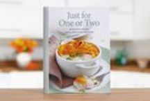 Just for One or Two cookbook / A fantastic new cookbook with 100 delicious recipes written specifically for one or two people so there's no need to worry about wasted ingredients and conundrums, such as how to halve an egg!