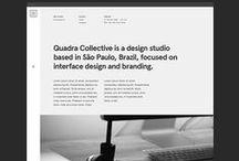 Webdesign // Veel wit, veel ruimte, een tikje minimalistisch / Voorbeelden van webontwerpen met veel witgebruik, veel ruimte en (een tikje) minimalistisch.
