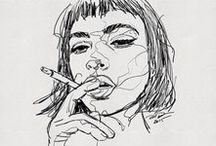 sketching | people