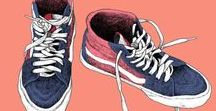 OUR WORLD | sneaker illustrations / sneaker drawings
