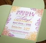 Bridal Showers / Bridal Shower invitations, decor and more!
