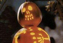 Halloween / Halloween Decor, Boo, Pumpkins, Lanterns