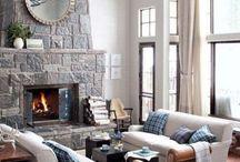 Living room / #Cozy, #Tuscan, #Rustic #Livig room. #Living Room Decor