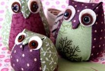 Owl / #Owl#sewing