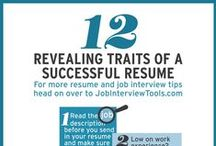 Resume and Cover Letter Help / We know building resumes and writing cover letters is like, THE WORST! Never fear, we've got some tips and tricks to make your life easier and to help you land the job interview that you want!