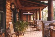 Inspired Porches, Patios and Pools / Inspirational examples beautiful outdoor spaces -- porches, patios, and pools.