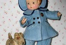 Dolls in Blue