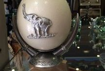 African Creative Pewter Collection / Our large collection of pewter products made in South Africa.
