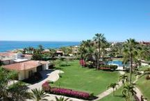 Puerta del Sol in Cabo San Lucas Spectacular Ocean View / Located in the distinguished Puerta del Sol, this beautiful two bedroom, two and a half bathroom unit with spectacular ocean views is now available. This unit is on the third floor and comes fully furnished.