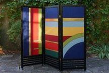 Paraventi - Paravent - Screen - Room Divider - Separe / Paraventi, arazzi per arredamento d'interni