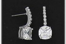 cubic zirconias and crystals nickel free / nickel free hypoallergenic jewelry for people with allergies