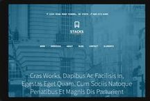 Tablet website Templates / Fully responsive website templates for tablets