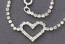 Valentines hearts / Hypoallergenic nickel free earrings and jewelry for people with allergies