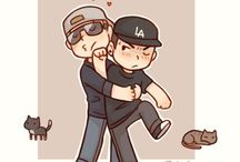 Hollywood Undead Chibis / HU Chibis - cutest thing ever