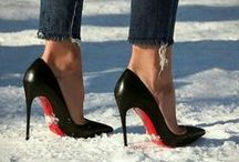 WINTER IN HEELS / Maybe not the most practical, but it looks good