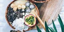 Smoothie Bowls / Bircher muesli, Açaï bowls, Smoothie bowls... on craque pour ces recette gourmandes et colorées qui permettent de faire le plein de vitamines avec des graines, fruits secs ou fruits frais.