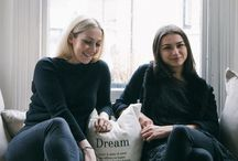 Toplogy Team / Small business run by two London bred girls. On a mission to create a storm in the interiors industry.