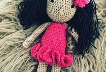 Mon crochet / Petites poupées avec accessoires