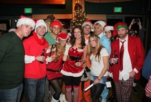 Annual Santa Monica Pub Crawl / Our mission is to bring holiday cheer to the Santa Monica community with a fun-filled event, while helping families in the community by donating to the Westside Food Bank. The Pub Crawl takes place every year in December.
