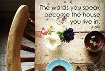 Words / by Elizabeth