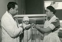 Mercy-Douglass SON / A selection of photos from the Mercy-Douglass School of Nursing.  Mercy-Douglass Hospital was formed in 1948 on the basis of the two hospitals serving a predominantly black patient population in Philadelphia.  For more information about this collection, please visit our site at www.nursing.upenn.edu/history