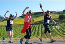 Running Enthusiasm / We love it when our racers get excited at a race!