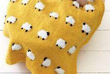 Baby blankets: Knit & Crochet