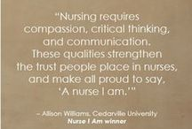 Nursing History Inspiration Board / Quotes to inspire nurses and healthcare professionals