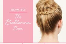 Hairstyles for Dance / Hairstyles for ballerinas