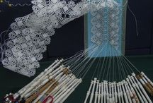 Hand made lace / Torchon