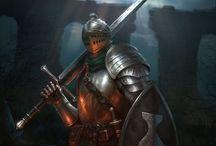 (f) armor fantasy / Armors