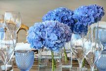 Blue Wedding Centerpieces / Blue Wedding Centerpieces