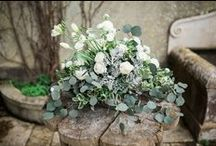 White Wedding Centerpieces / White Wedding Centerpieces made by My Wedding Flowers Portugal