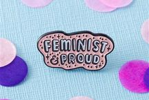 Feminism / revolution served here