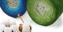 Baumwoll Bobbel & Farbverlaufsgarn / Baumwoll Bobbel, Farbverlaufswolle, Mobbel, Wolle, 3-fädig, 4-fädig, 5-fädig, 6-fädig, von Monk Wolle & Beanies zum häkeln und stricken von Tüchern, Schals, Decken und Mützen in verschiedenen Längen.