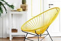Acapulco Chair / Das schöne Design des Acapulco Chairs ist einfach unique und macht Spaß! Es ist wunderbar zeitlos und reduziert. Die schönen geometrischen Linien der Sitzschalen zaubern in der Sommersonne wunderschöne Muster auf den Boden. Ob im Garten, auf der Terrasse oder im Wohnzimmer: Die Acapulcos eignen sich für Indoor und Outdoor – www.designupdate.de ♡