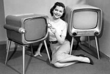 Fernsehgeräte / Documenting our cultural love affair with the television set. / by Susan Knauff