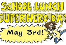 School Lunch Superhero Day! / Celebrate your School Lunch Superheroes on May 3rd with help from Jarrett Krosoczka and the Lunch Lady series!  / by Random House Children's Books