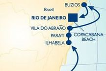Holidays in South America / Start making your plans for Christmas and New Year's in 2014. There's no better place to ring in the New Year than Copacabana Beach, Brazil! / by Azamara Club Cruises