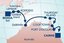 Cruise from Bali to the Great Barrier Reef / In 2015, the Azamara Quest will travel to Australia for the first time! This voyage includes stops in the beautiful destinations of Bali and Komodo Island as well. / by Azamara Club Cruises