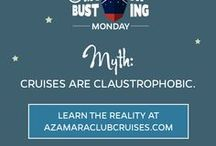 Cruise Myths & Misconceptions / We're busting myths about the cruise industry! https://www.azamaraclubcruises.com/discover/cruise-myths-misconceptions
