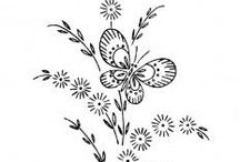 Embroidery / free embroidery patterns / by Sara Taylor