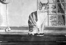 The Early American Cat / Folksy felines found in the Frick Art Reference Library's Digital Image Archive and other online collections. To explore the Photoarchive's online collections, please visit: http://digitalcollections.frick.org/