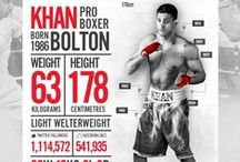 Boxing Design & Infographics