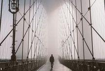 "| Travel | New York / ""I love feeling the rhythm of other people's lives. It's like traveling.""  ― Banana Yoshimoto, The Lake"