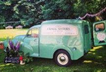 Street food in style / In honour of our Festival Feast indoor street party, we love these street food vans!