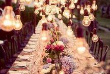 Weddings & Celebrations / Scene da un matrimonio: decorazioni e arredi per rendere speciale il grande giorno.