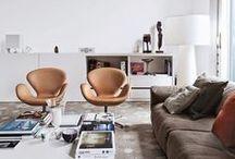 Living Room & Foyers / Arredamento di interni: la sala, il soggiorno, la zona conversazione e te.